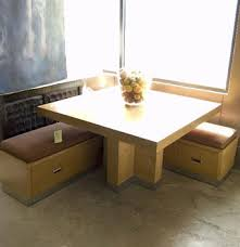 breakfast nook table with bench nook table and benches