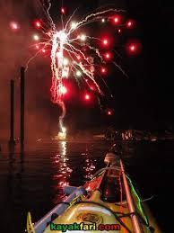 Kayak Night Lights Kayaking The Boca Raton Holiday Boat Parade Kayakfari Kayak
