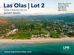 San Pancho Mexico Map by Las Olas Lot 2 Real Estate San Francisco Nayarit Mexico