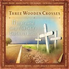 100 country crosses home decor home the deck house outside country crosses home decor various artists three wooden crosses amazon com music