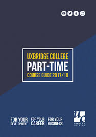 download our course guides here uxbridge college top london