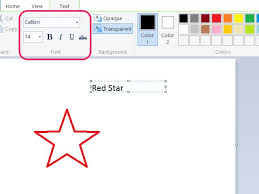 how to edit text in paint techwalla com