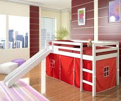 chambre enfant toboggan habillage lit superpose chambre pour enfant avec un lit mezzanine