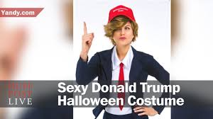 trump halloween costume the donald trump costume will cost you 69 95 youtube