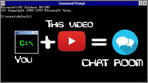 batch how to make a chatroom code in description youtube