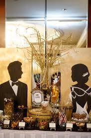gatsby wedding great gatby art deco wedding black and gold