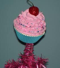 original cupcake tree topper pink land tree