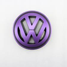 volkswagen purple online shop purple front grille grill vw emblem badge replacement