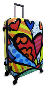 britto garden amazon com heys usa luggage britto new day 30 inch hard side