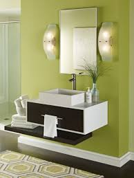 Bathroom Sconces Bathroom Ideas Ultra Modern Framed Bathroom Mirror With Two Wall