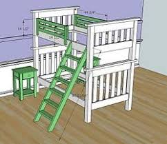 Loft Bed Ladder Diy Ana White Simple Bunk Beds Diy Projects