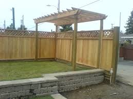 cedar wood fence panels installation red cedar wood fence panels