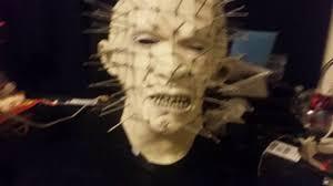 saw pig mask spirit halloween hellraiser pinhead mask youtube