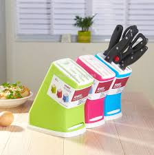 plastic tool holder knife block kitchen supplies knife rack