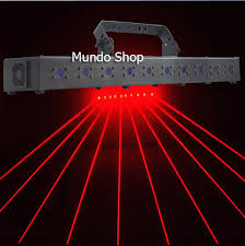 laser lights 1w high brightness laser light curtain 10 heads parallel laser