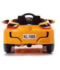 Bmw I8 Yellow - toyhouse bmw i8 battery operated ride on car yellow buy toyhouse