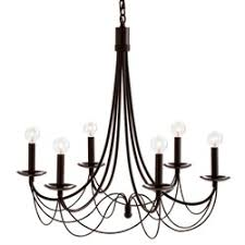 Chandelier Metal Metal Chandelier Lights Homes And Garden Journal