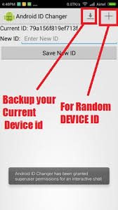 device id android how to change android mobile device id 2015
