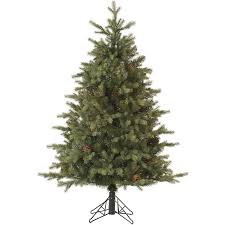 vickerman pre lit 3 flocked alaskan artificial tree