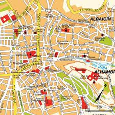 Girona Spain Map by Map Of Granada Spain Imsa Kolese