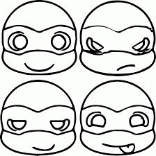 ninja turtle coloring pages to print coloring home