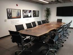 Live Edge Conference Table Endearing Custom Conference Tables Handmade Custom Conference