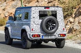Spied Redesigned Suzuki Jimny Looks Like A Mini G Wagen Motor Trend
