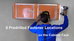 v nose enclosed trailer cabinets nss upper cabinet installation v nose youtube