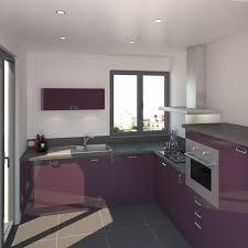 cuisine mur aubergine cuisine blanche mur aubergine survl com