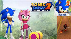 fun free video game for kids sonic dash 2 sonic boom app gameplay