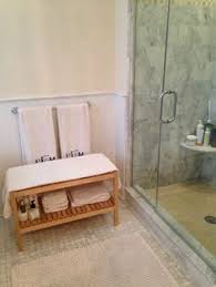 Bathroom Bench With Storage What A Great Idea To A Bench Seat With Storage Underneath In