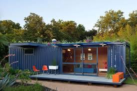 sustainable shipping container house with a rooftop garden best