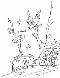 tinkerbell book coloring