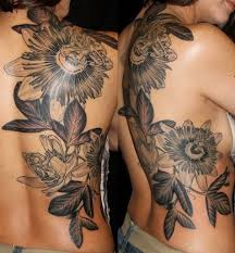 Large Flower Tattoos On - 11 best passionflower tattoos images on flower