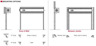 Overhead Roll Up Door Rolling Steel Doors Rice Equipment Co Loading Dock Door Service