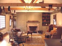 Best Colonial Homes Images On Pinterest Primitive Fireplace - Colonial homes interior design