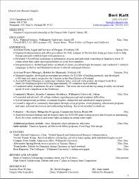 exle of great resume great exle of a liberal arts resume want more information