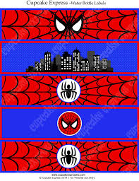 spiderman printable logo cake templates spiderman