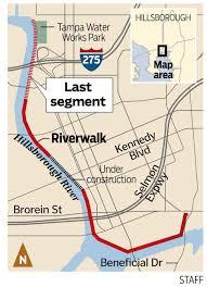 Riverwalk Map Permit Granted For Final Phase Of Tampa U0027s Riverwalk Tbo Com