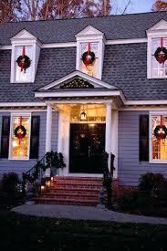 christmas lights for inside windows christmas wreaths for windows innovative wreaths in windows