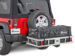 jeep tailgate storage jeep cargo u0026 sport racks quadratec