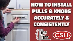 how to install knobs on kitchen cabinets how to install kitchen cabinet pulls and knobs accurately and consistently tips from tiff 11
