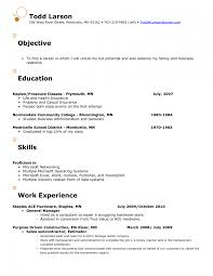 Sample Resume Objectives For Multiple Jobs by Job Objective Examples For Resumes Splixioo