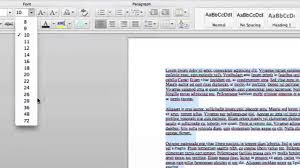 how to make the print bigger on a page i want to print out