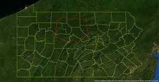 Elk Population Map Pennsylvania Elk Range From The Field
