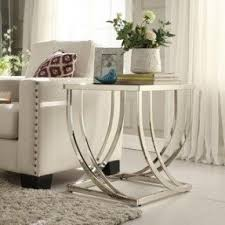 End Table Living Room Black Contemporary End Tables Foter