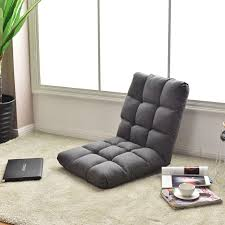 14 position adjustable cushioned floor gaming sofa chair u2013 by