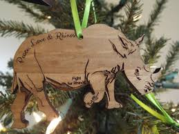 ornaments fight for rhinos