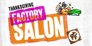 thanksgiving factory salon musical theatre factory