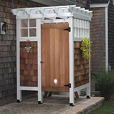 Backyard Shower Ideas 10 Brilliant Outdoor Shower Fixtures You Can Make Yourself